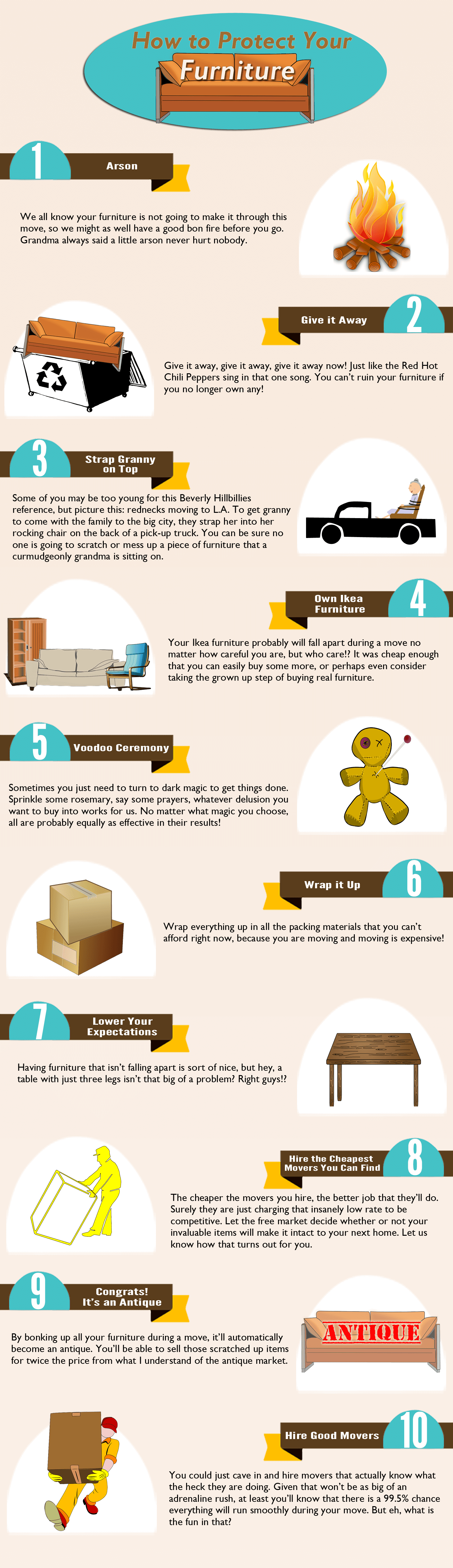 How To Protect Furniture